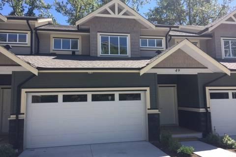 Townhouse for sale at 11252 Cottonwood Dr Unit 49 Maple Ridge British Columbia - MLS: R2429196