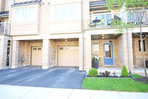 Townhouse for sale at 201 Westbank Tr Unit 49 Hamilton Ontario - MLS: X4465320