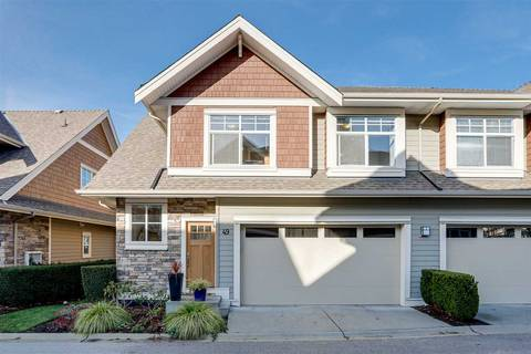 Townhouse for sale at 2453 163 St Unit 49 Surrey British Columbia - MLS: R2419539
