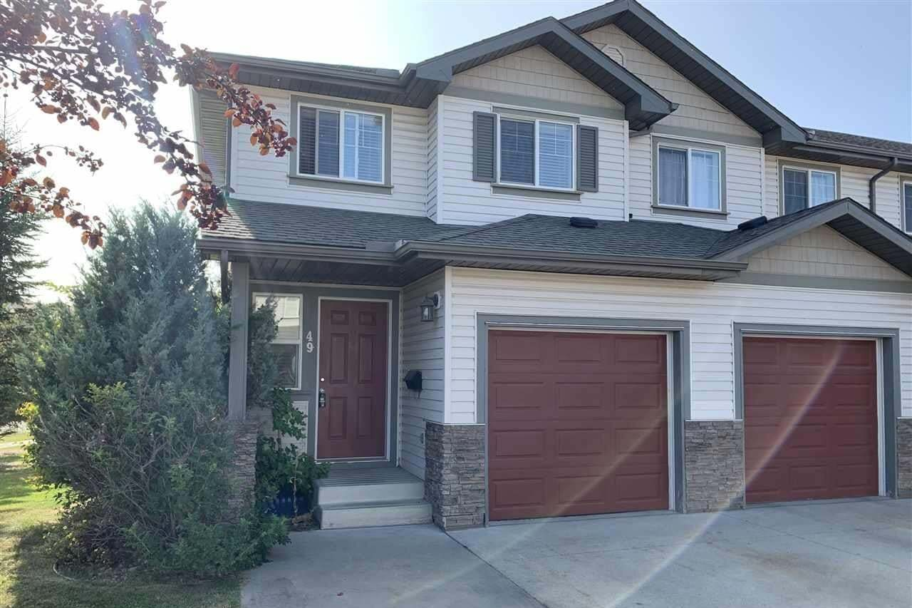 Townhouse for sale at 2816 34 Av NW Unit 49 Edmonton Alberta - MLS: E4214863