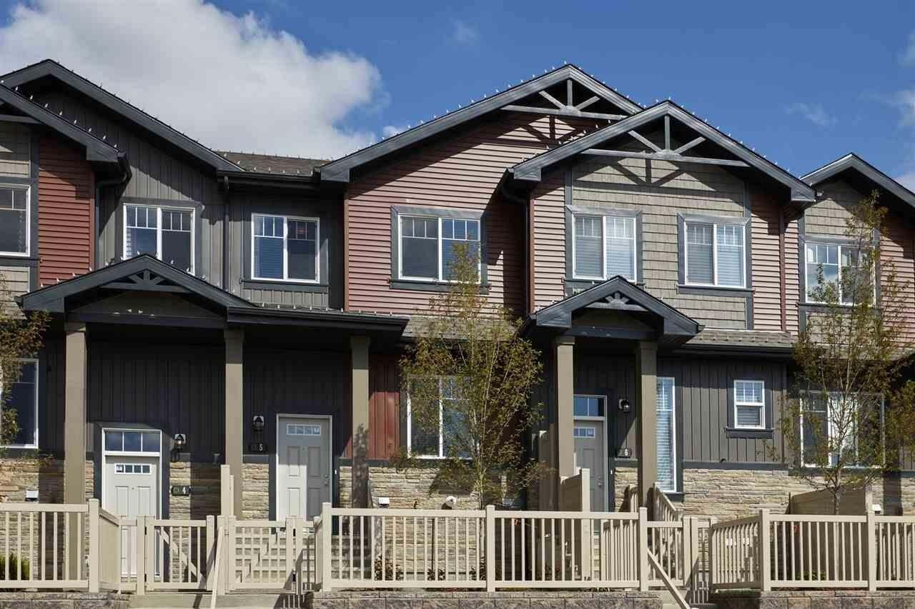 Townhouse for sale at 3305 Orchards Li SW Unit 49 Edmonton Alberta - MLS: E4166707