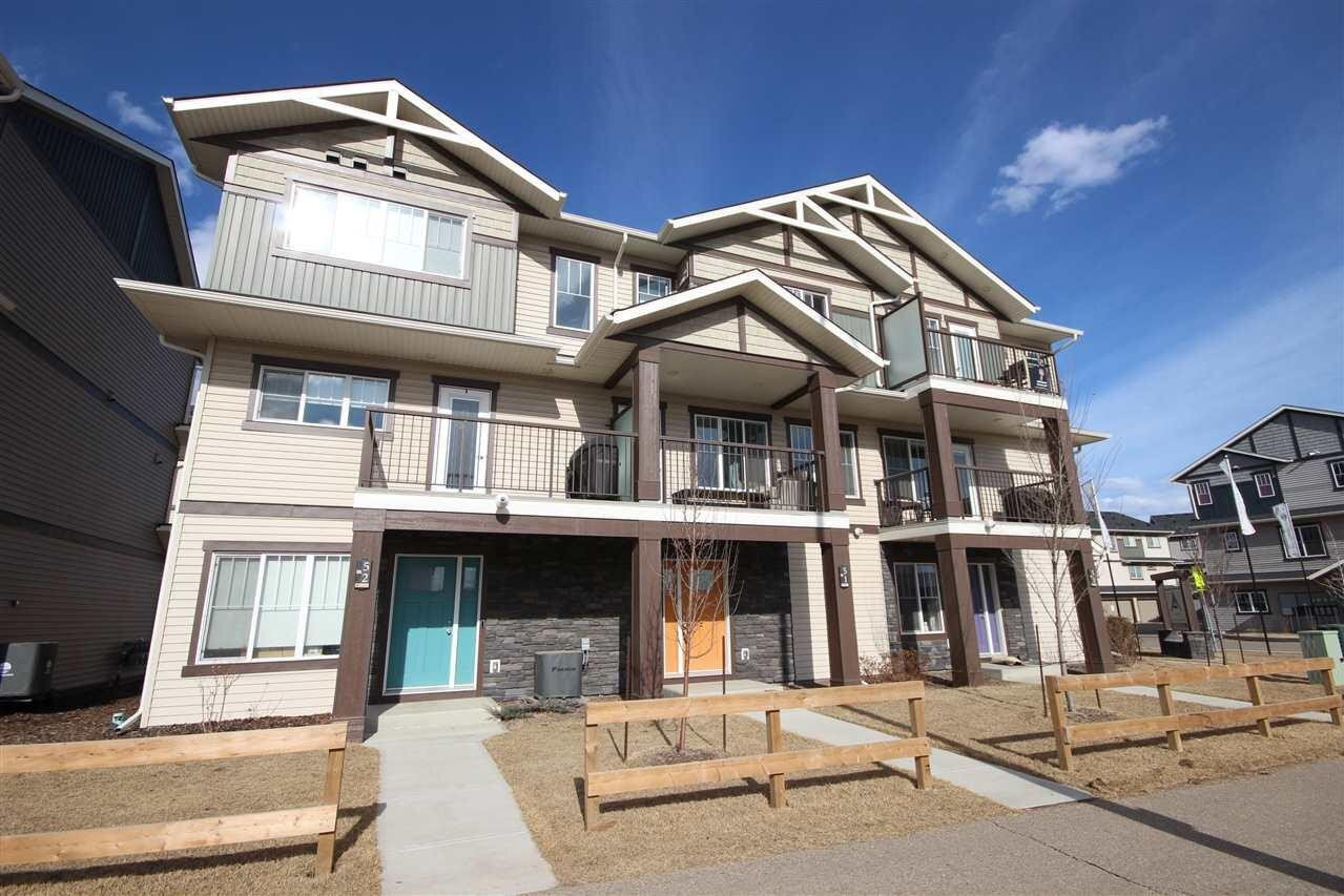 Townhouse for sale at 50 Mclaughlin Dr Unit 49 Spruce Grove Alberta - MLS: E4224646