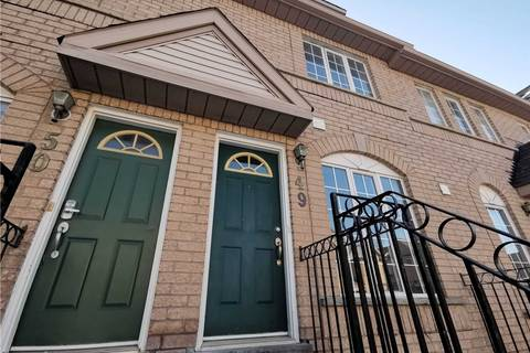 Apartment for rent at 80 Strathaven Dr Unit 49 Mississauga Ontario - MLS: W4692927