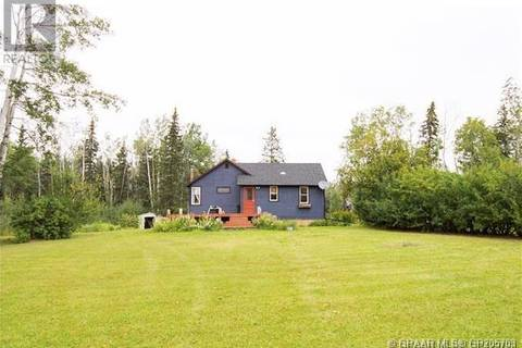 House for sale at 8456 Highway 49 Hy Unit 49 Saddle Hills County Alberta - MLS: GP205703