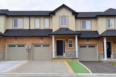 Townhouse for sale at 9 Hampton Brook Wy Unit 49 Hamilton Ontario - MLS: X4804006