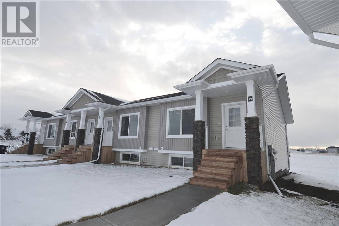 Townhouse for sale at 49 Athens Rd Blackfalds Alberta - MLS: ca0178452