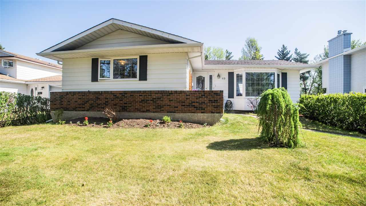 For Sale: 49 Bellevue Crescent, St Albert, AB | 6 Bed, 2 Bath House for $449,103. See 30 photos!