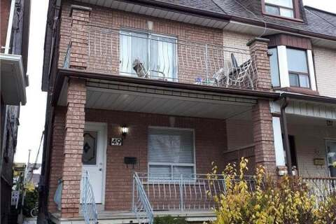 Townhouse for rent at 49 Boon Ave Toronto Ontario - MLS: W4804672