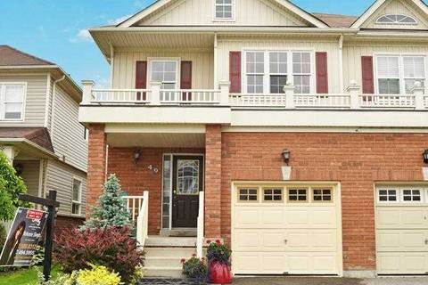 Townhouse for sale at 49 Brownridge Pl Whitby Ontario - MLS: E4505806