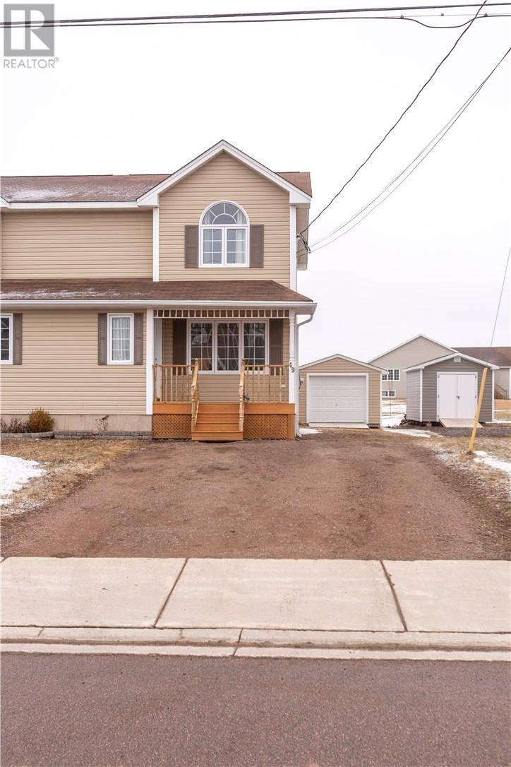 House for sale at 49 Coachmen St Riverview New Brunswick - MLS: M127948