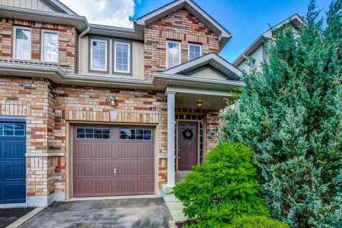 Townhouse for sale at 49 Cole St Hamilton Ontario - MLS: X4816355