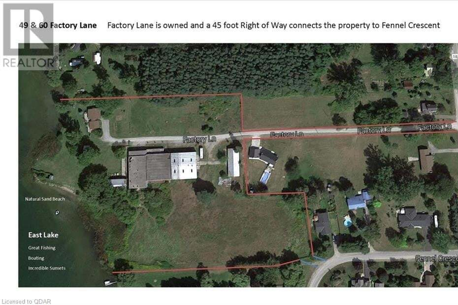 Commercial property for sale at 49 Factory Ln Prince Edward County Ontario - MLS: 250909