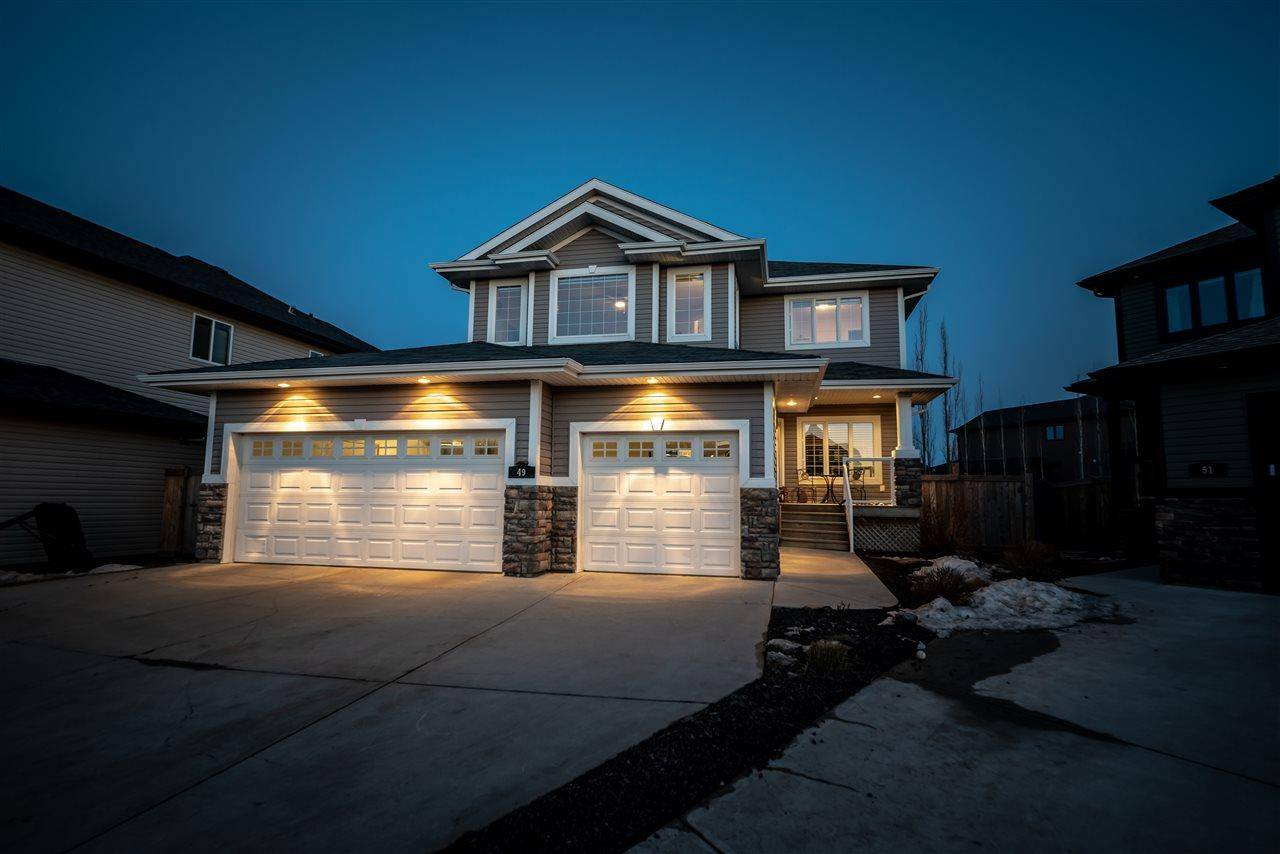 House for sale at 49 Hilldowns Dr Spruce Grove Alberta - MLS: E4194387