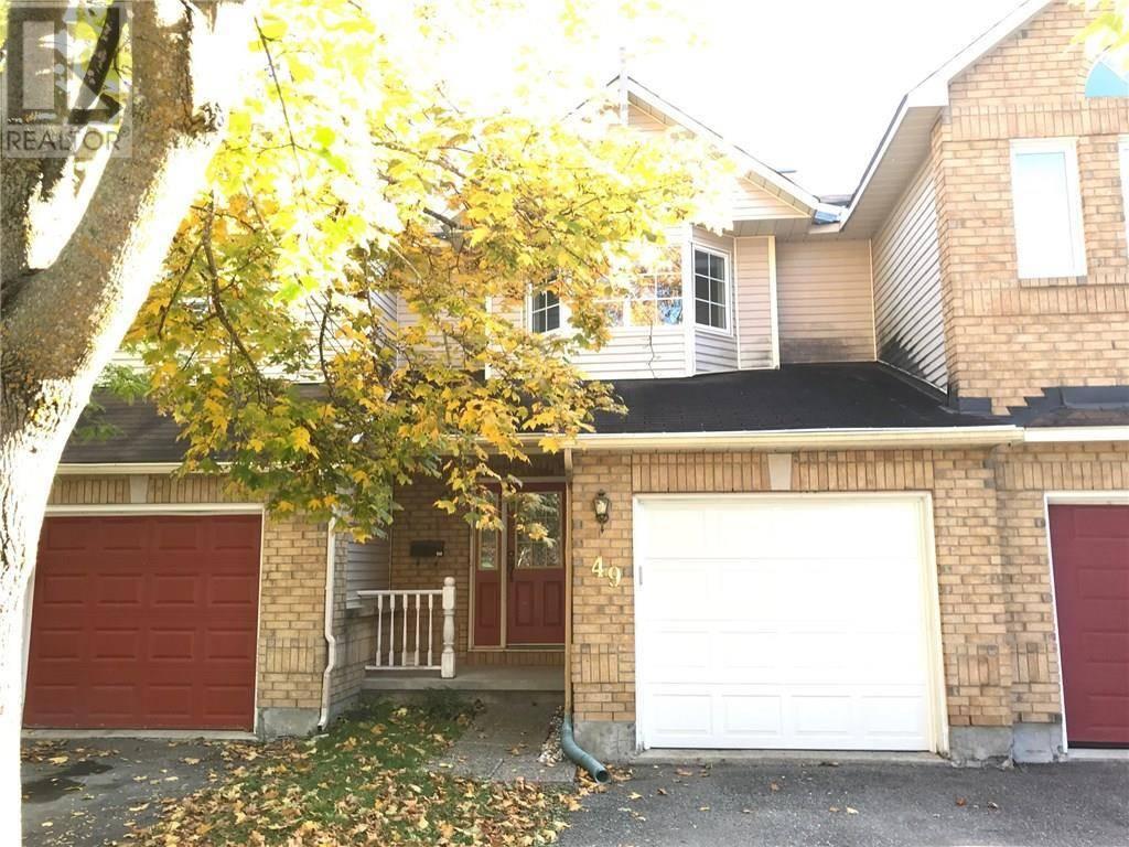 Townhouse for sale at 49 Kalbrook St Ottawa Ontario - MLS: 1174568