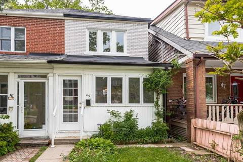 Townhouse for rent at 49 Kenwood Ave Toronto Ontario - MLS: C4662944