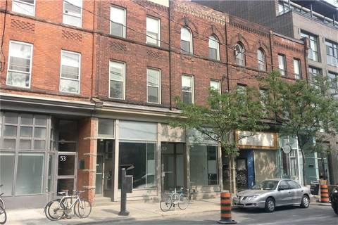 Commercial property for lease at 49 Ossington Ave Toronto Ontario - MLS: C4611818