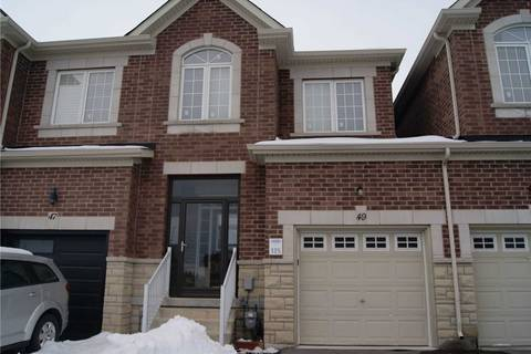 Townhouse for sale at 49 Pacific Rim Ct Richmond Hill Ontario - MLS: N4694667