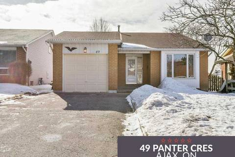 House for sale at 49 Panter Cres Ajax Ontario - MLS: E4368552