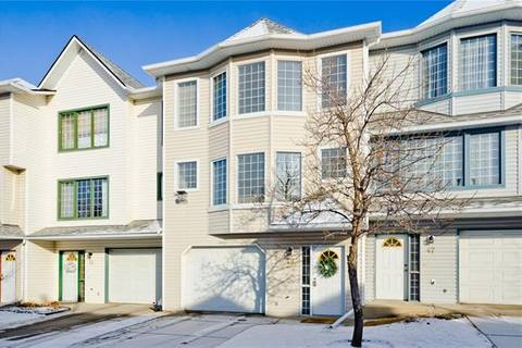 Townhouse for sale at 49 Patina Vw Southwest Calgary Alberta - MLS: C4281394