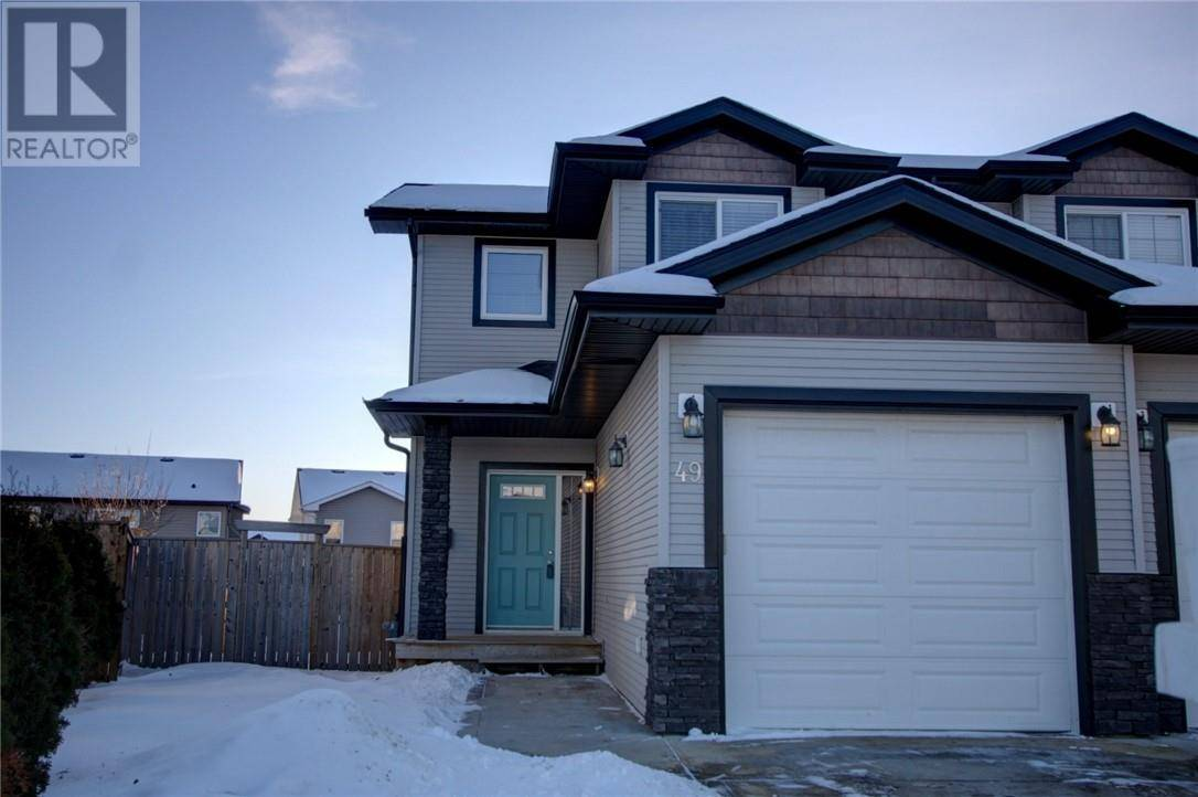 Townhouse for sale at 49 Piper Cs Blackfalds Alberta - MLS: ca0186029