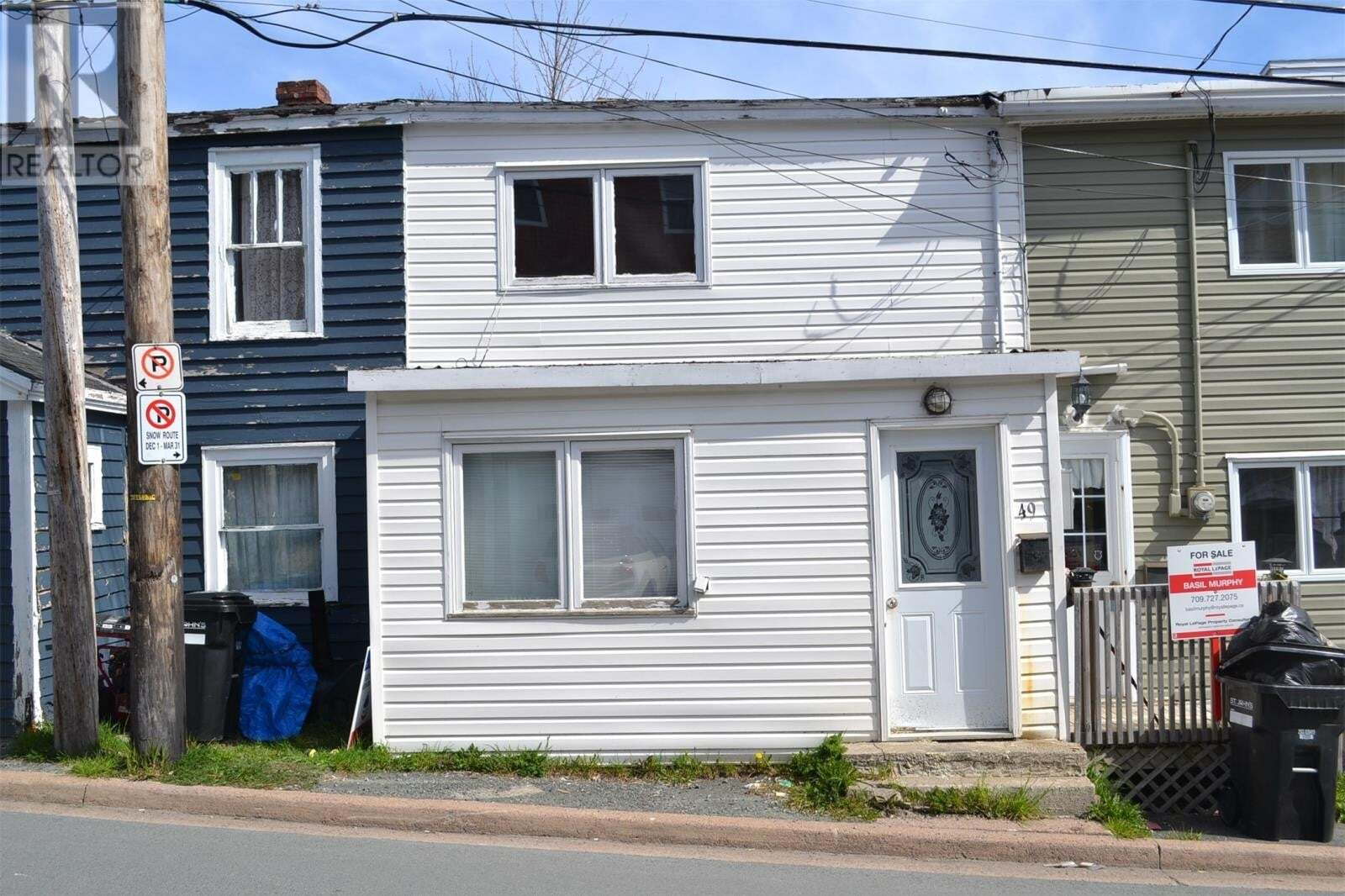 House for sale at 49 Quidi Vidi Village Rd St. John's Newfoundland - MLS: 1214144