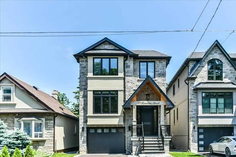 House for sale at 49 Roxaline St Toronto Ontario - MLS: W4491812