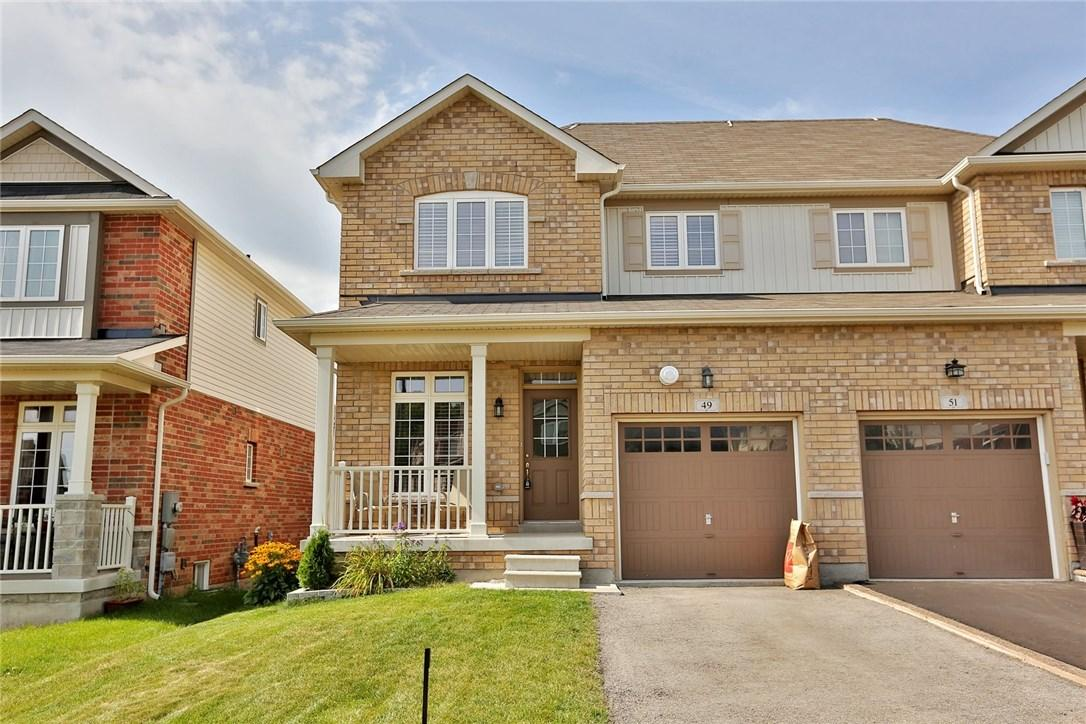 For Sale: 49 Sadielou Boulevard, Waterdown, ON | 3 Bed, 2 Bath House for $583,000. See 25 photos!