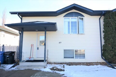 Townhouse for sale at 49 Silver Dr Blackfalds Alberta - MLS: A1056152