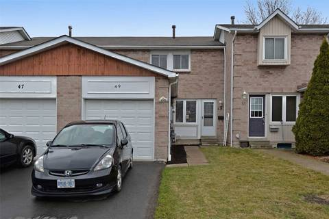 Townhouse for sale at 49 Tams Dr Ajax Ontario - MLS: E4734485