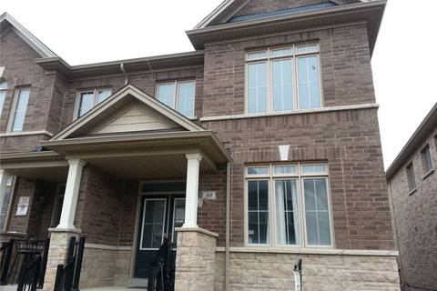 Townhouse for sale at 49 Yellowknife Rd Brampton Ontario - MLS: W4414345