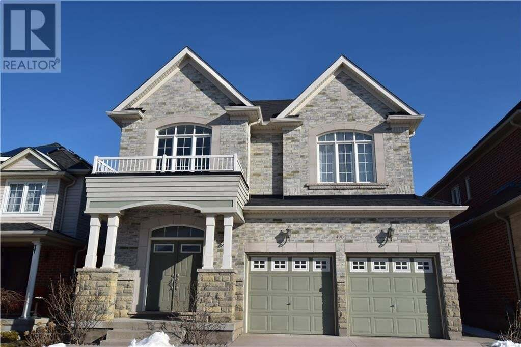 House for sale at 490 Thomas Slee Dr Kitchener Ontario - MLS: 30796094