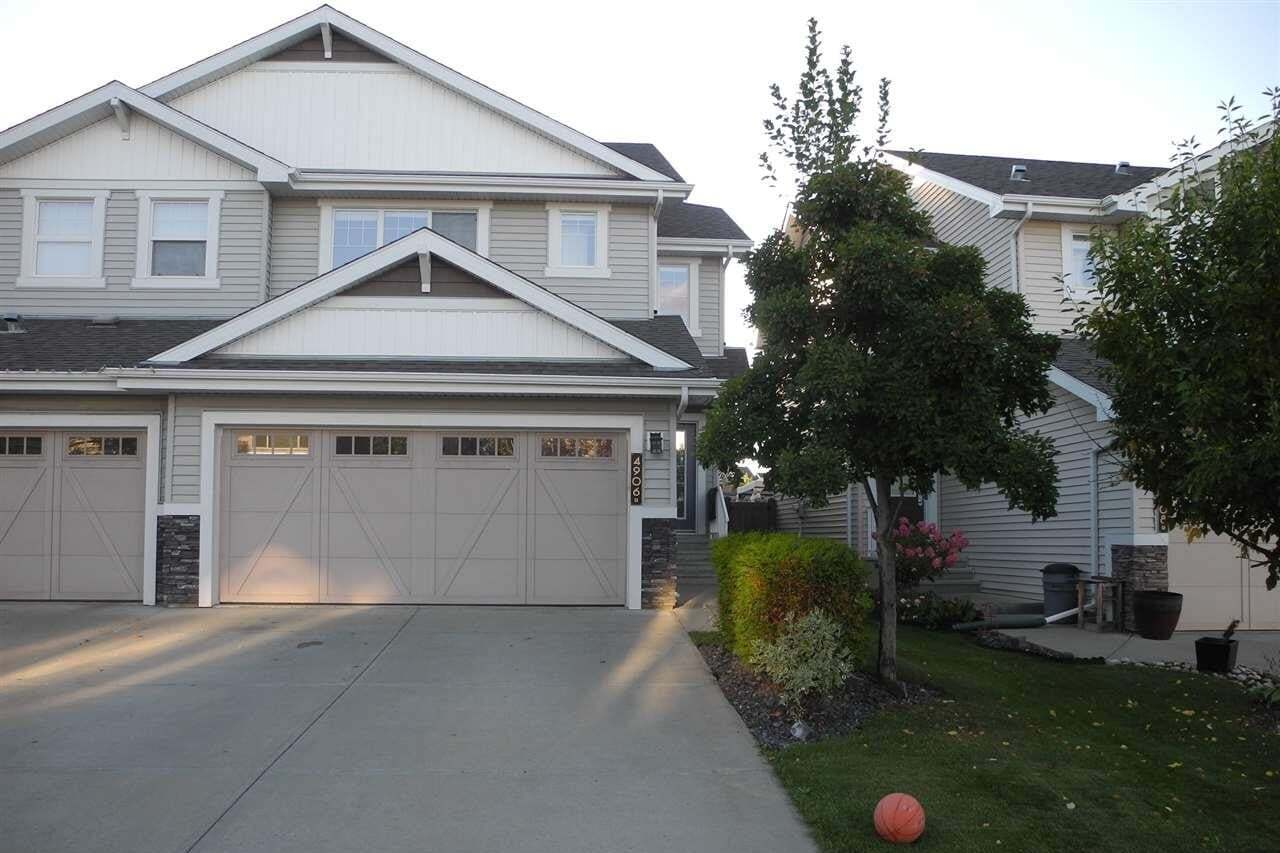 Townhouse for sale at 4906 213 St NW Edmonton Alberta - MLS: E4214119