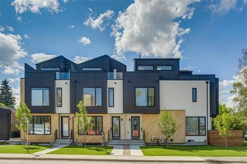 Townhouse for sale at 4907 16 St Southwest Calgary Alberta - MLS: C4235288