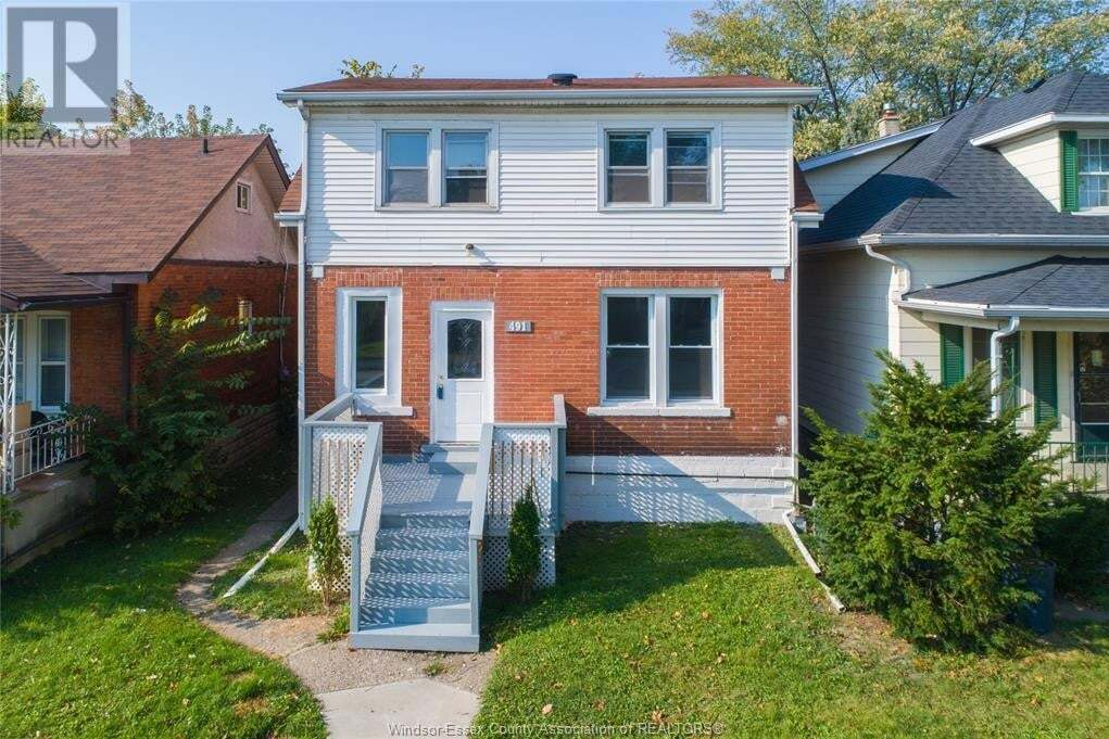 House for sale at 491 Curry Ave Windsor Ontario - MLS: 20014124