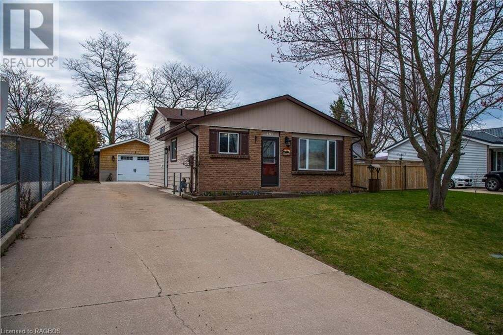 House for sale at 491 Parkview Ave Port Elgin Ontario - MLS: 256843