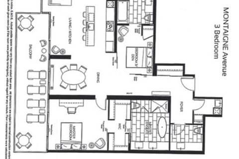 Apartment for rent at 488 University Ave Unit 4910 Toronto Ontario - MLS: C4684366