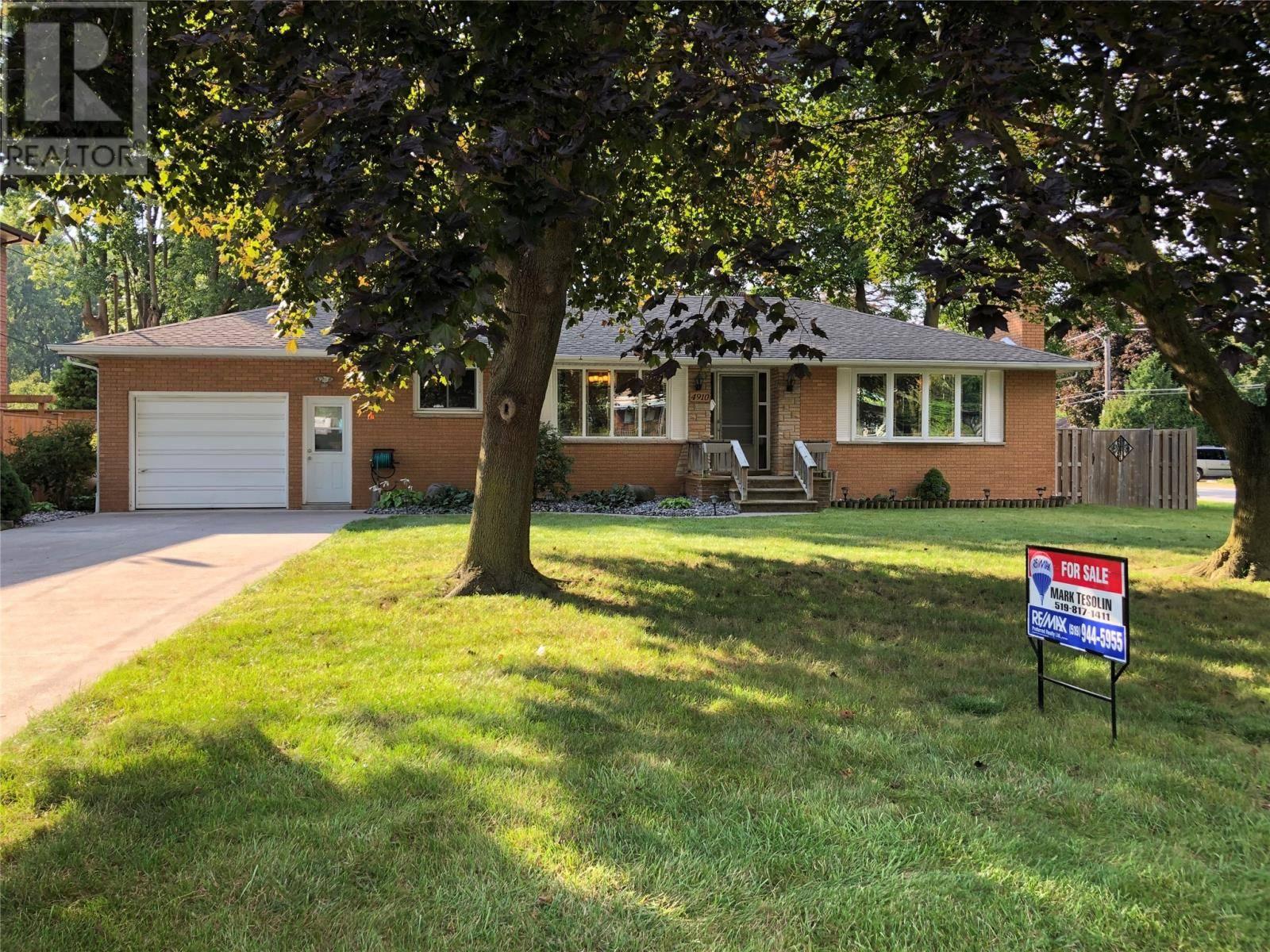 House for sale at 4910 Malden  Windsor Ontario - MLS: 19025448