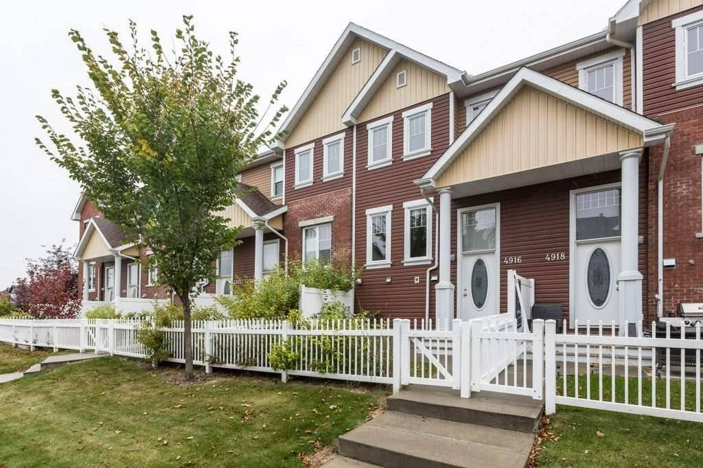 Townhouse for sale at 4916 Terwillegar Common Nw Edmonton Alberta - MLS: E4176240