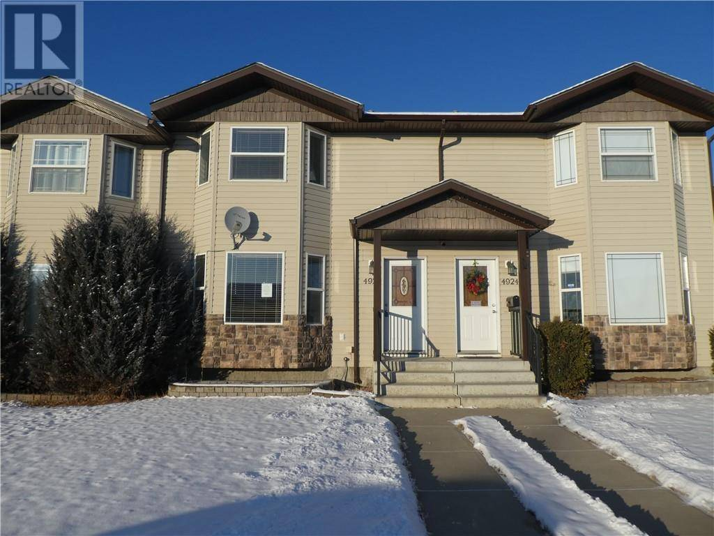 Townhouse for sale at 4920 Westbrooke Rd Blackfalds Alberta - MLS: ca0184847