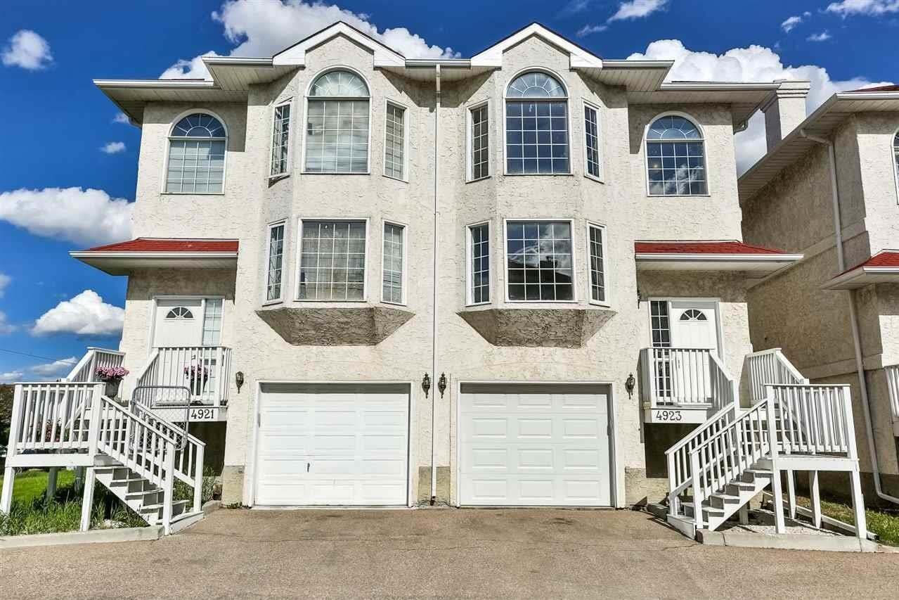 Townhouse for sale at 4923 19 Av NW Edmonton Alberta - MLS: E4201410