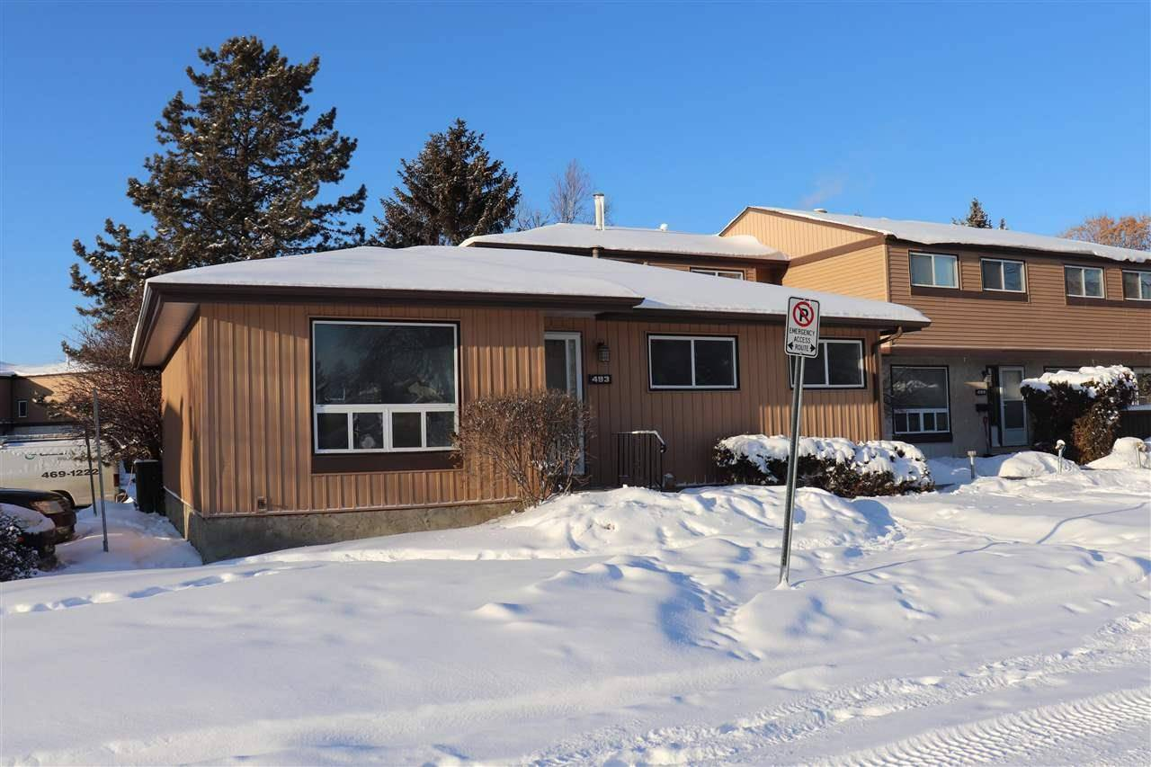 Townhouse for sale at 493 Knottwood Rd Nw Edmonton Alberta - MLS: E4184675