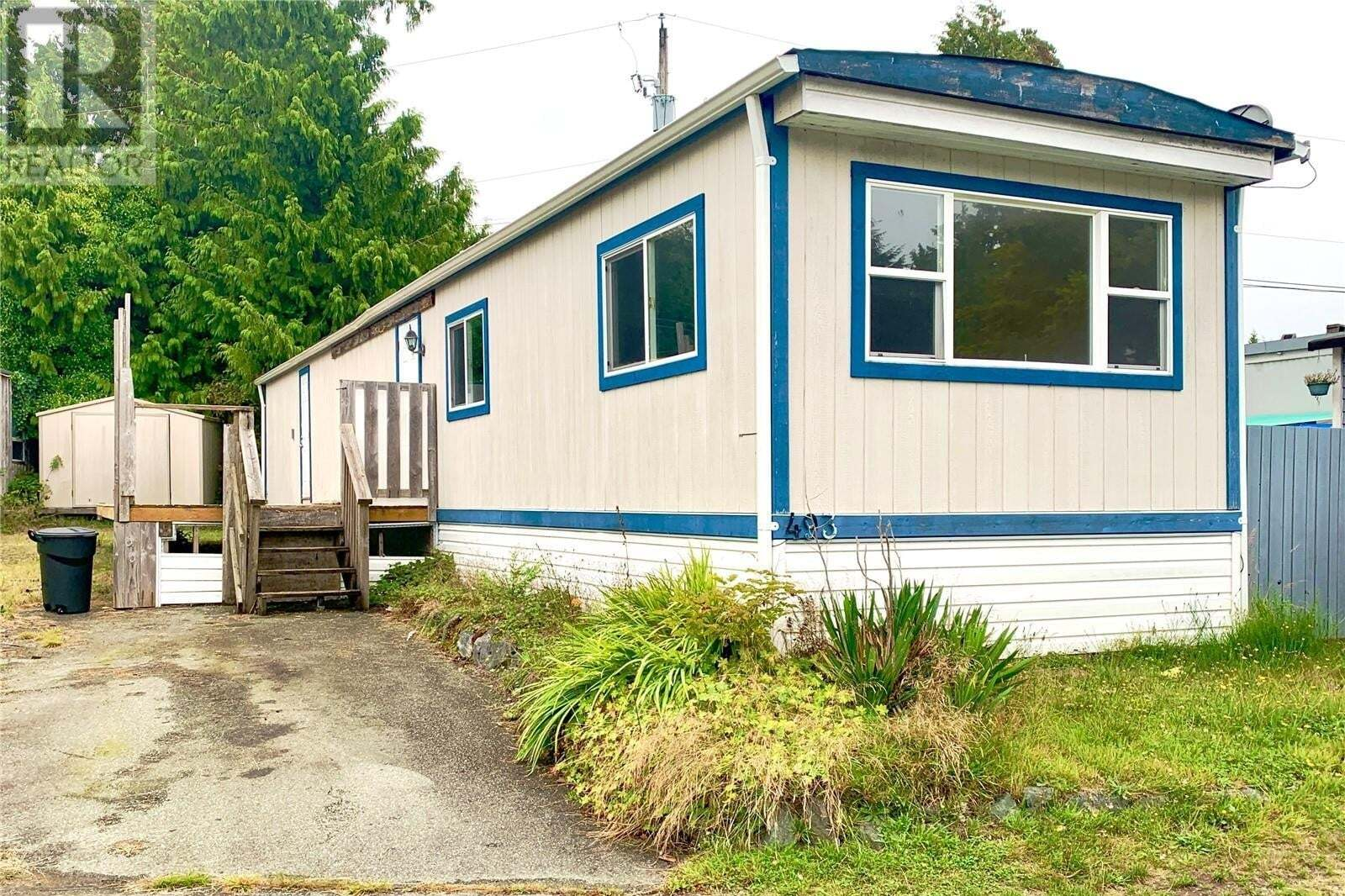 Residential property for sale at 493 Orca Cres Ucluelet British Columbia - MLS: 856312