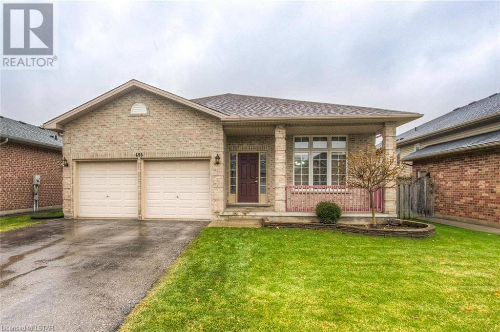 House for sale at 495 Forest Creek Pl London Ontario - MLS: 240949