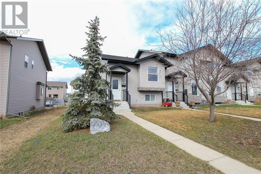 Townhouse for sale at 4952 Westbrooke Rd Blackfalds Alberta - MLS: ca0175761