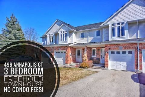 Townhouse for sale at 496 Annapolis Ct Waterloo Ontario - MLS: X4722198