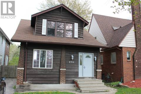 House for sale at 496 Askin  Windsor Ontario - MLS: 19017800
