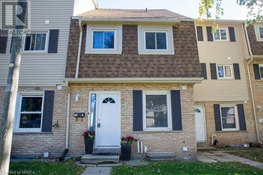 Townhouse for sale at 496 Grey St Brantford Ontario - MLS: 40033156