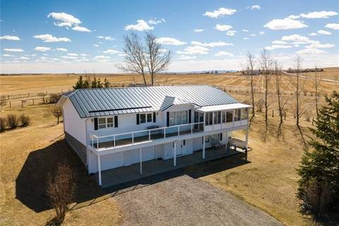 House for sale at 498190 64 St West Rural Foothills County Alberta - MLS: C4238916