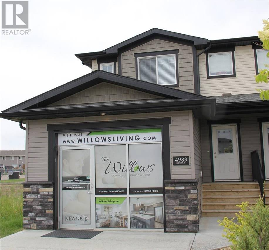 Townhouse for sale at 4985 Aspen Lakes Blvd Red Deer County Alberta - MLS: ca0171925