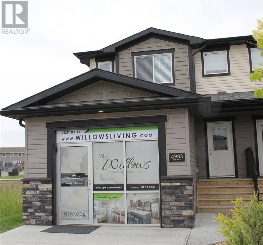 Townhouse for sale at 4989 Aspen Lakes Blvd Blackfalds Alberta - MLS: ca0171928